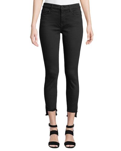 The Ankle Step-Hem Skinny Jeans