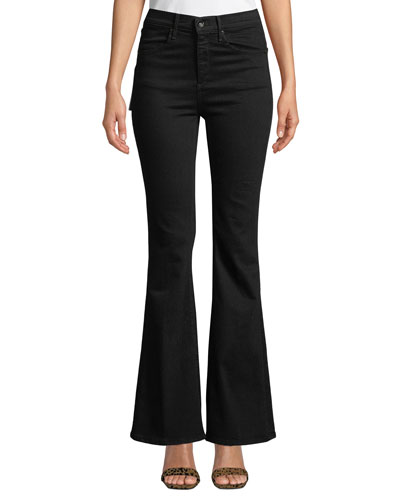 Bella High-Rise Boot-Cut Jeans