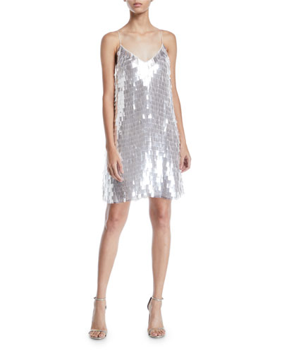 Contessa Embellished V-Neck Dress