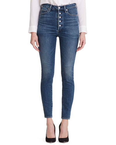 Citizens of Humanity Olivia High-Rise Skinny Jeans with
