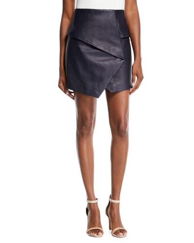 7ea13323a0 Designer Leather Skirt | bergdorfgoodman.com
