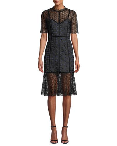 Kaila Lace Cocktail Dress