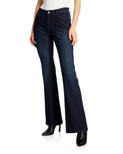 Mercer Flared Prestige Denim Jeans
