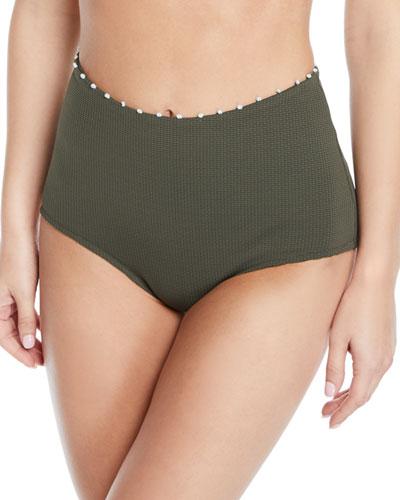 Corsica High-Waisted Bikini Bottom