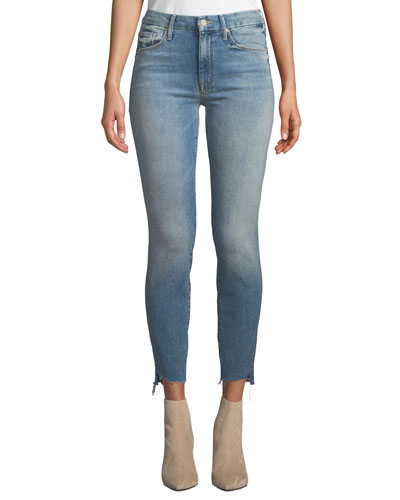 The Looker Ankle Step Fray Skinny Jeans, Truth or Dare