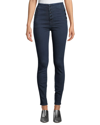 Natasha Sky-High Super Skinny Ankle Jeans