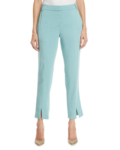 Stretch Suiting   Cropped Pants