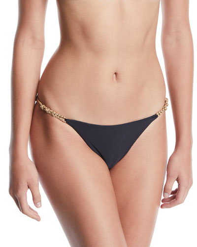 Knotted Rope Hipster Bikini Swim Bottoms
