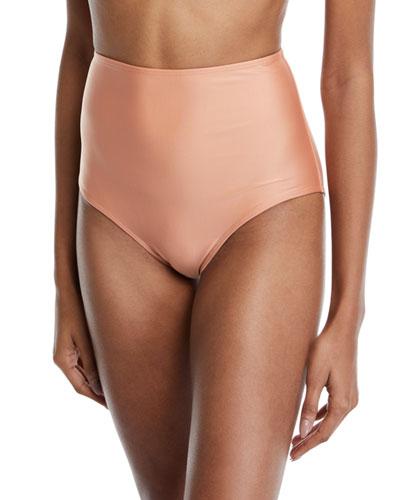Cruzeiro High-Waist Bikini Swim Bottoms