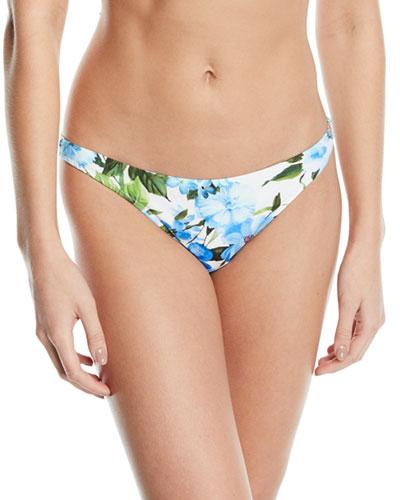 1b80aa2c39 St. Lucia Floral Hipster Bikini Swim Bottoms