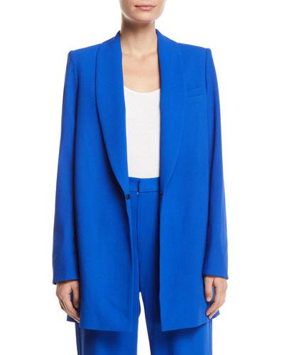 Jace Shawl-Collar Oversized Blazer
