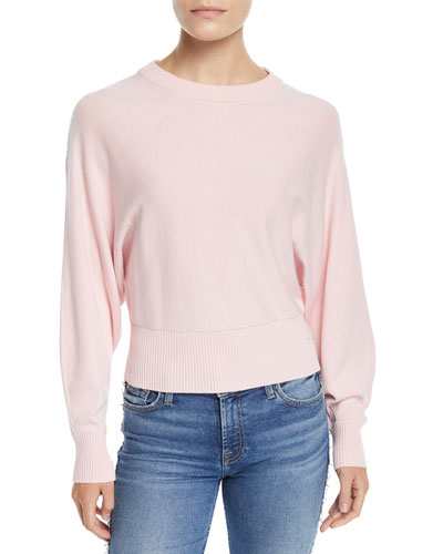 Volume Dolman-Sleeve Top