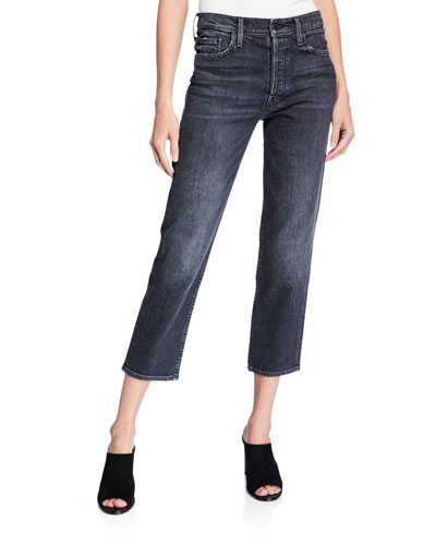 The Tomcat High-Rise Straight Cropped Jeans