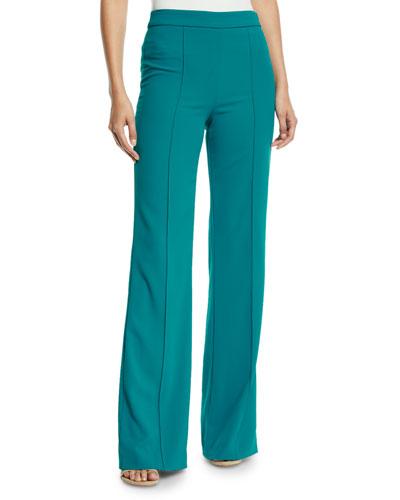 Jalisa High-Waist Fitted Pants