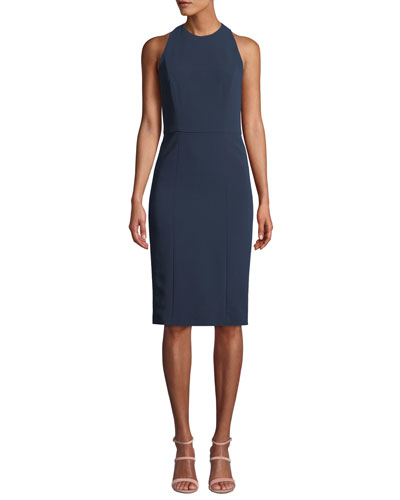 Cora Fitted Sleeveless Dress