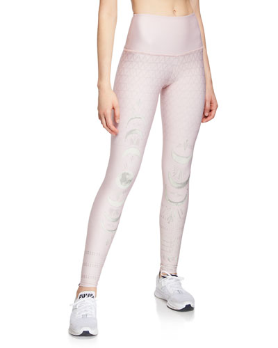 High-Rise Graphic Performance Leggings