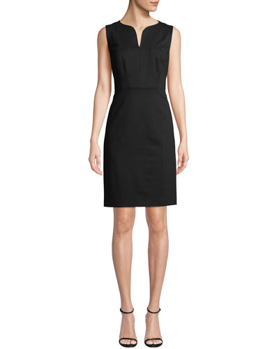 Natanya Sleeveless Sheath Dress