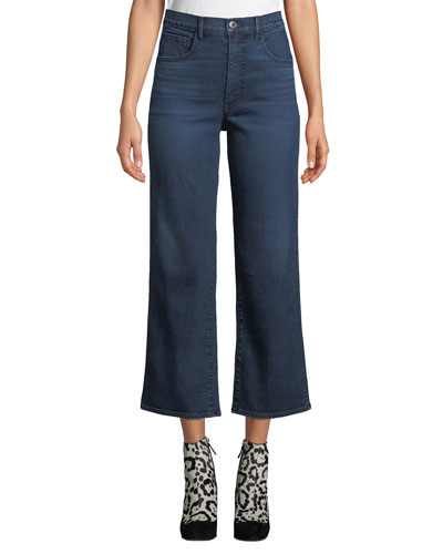 Joni Wide-Leg High-Rise Cropped Jeans