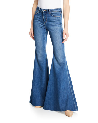 Lorde High-Rise Super Flare Jeans
