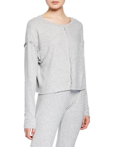 Weekend Crewneck Long-Sleeve Pullover