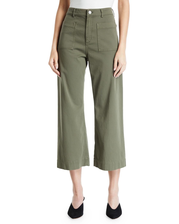 A.l.c Pants FALLON CROPPED PANTS
