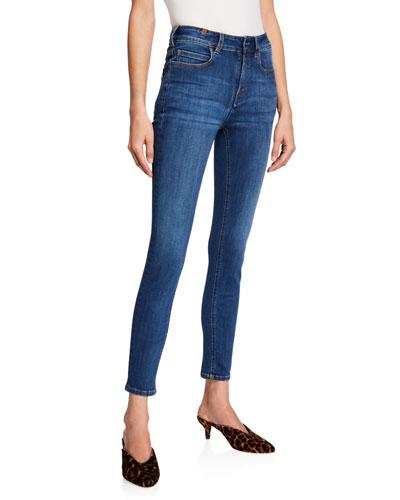 Bamboo Skinny High-Waist Jeans 46185a5fb2e1d