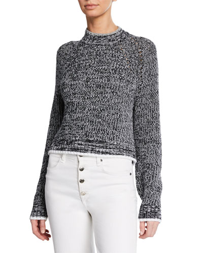Ilana Crewneck Knit Sweater