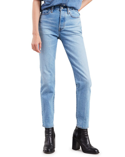 Wedgie Icon Fit Mid-Rise Straight-Leg Jeans
