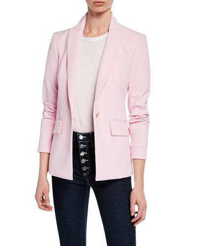 Morgan Single-Button Dickey Jacket