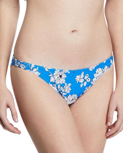 6c9d0d1b6f St. Lucia Floral-Print Bikini Bottom