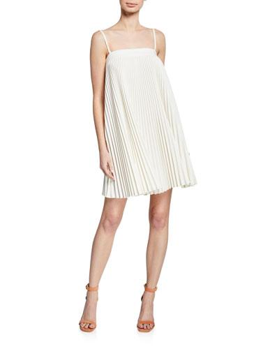Mila Sleeveless Pleated Dress