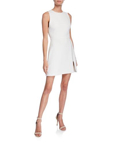 Julie A-Line Dress w/ Front Zipper