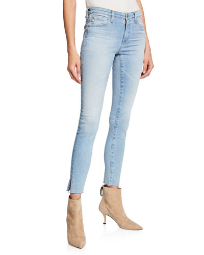 The Legging Ankle Jeans with Splits
