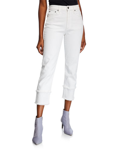 Amazing High-Rise Jeans with Double Hem