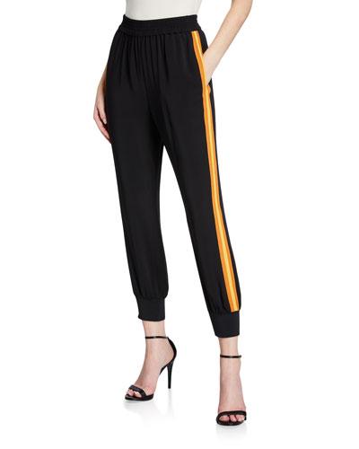 Robin Side-Stripe Jogger Pants