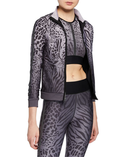 Atomic Panthera Print Jacket