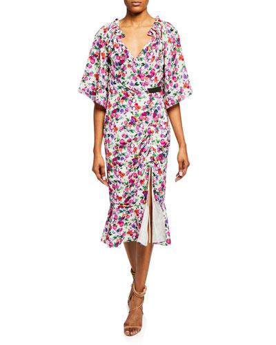 Silk Crepe de Chine Dress