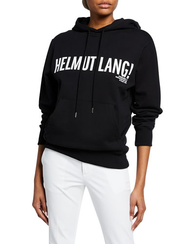 ec171314a6b5 Exclamation Mark Logo Drawstring Hoodie