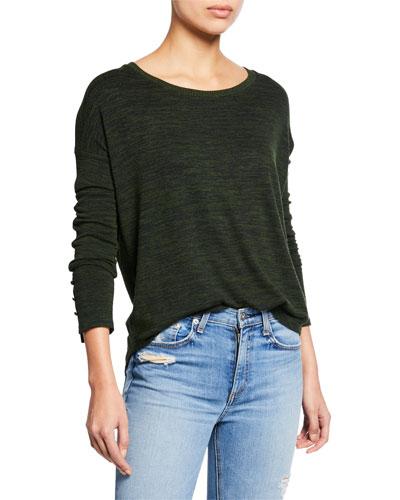 Hudson Long-Sleeve Shirt w/ Buttons