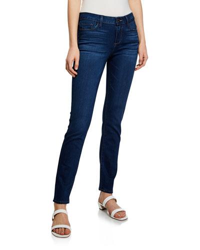 Skyline Mid-Rise Ankle Skinny Jeans