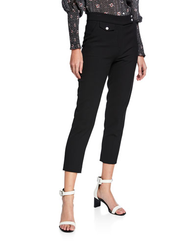 Renzo Cropped Skinny Pants
