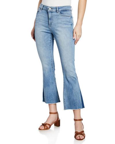 Bridget Mid-Rise Instasculpt Boot-Cut Jeans