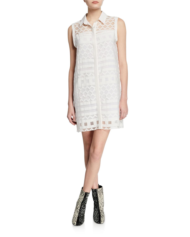 Milly Dresses SLEEVELESS SHIRT DRESS