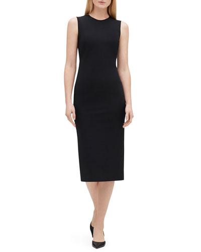Noshra Sleeveless Midi Dress