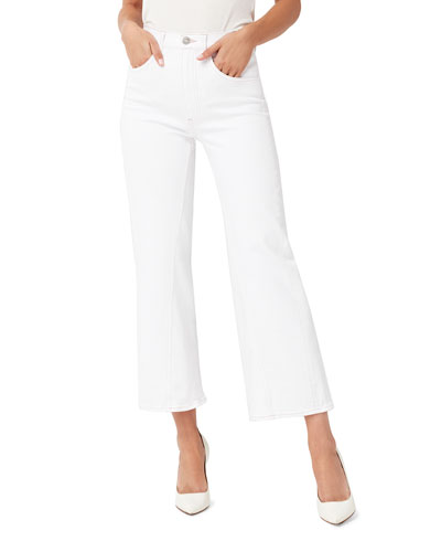 Aimee Wide-Leg Cropped Jeans