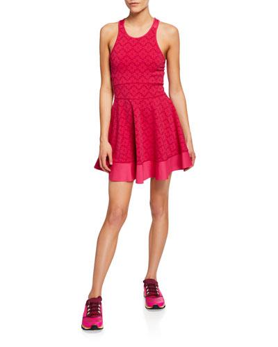 floral spade tennis dress