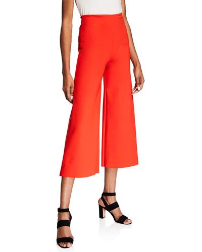 Skylette Cropped Wide-Leg Pants