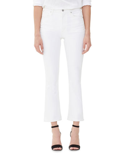 Citizens of Humanity Demy High-Rise Cropped Skinny-Leg Flare