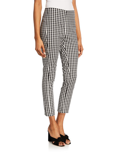 fe5eef60d3413 Jessalyn Slim Gingham Ankle Pants Quick Look. Elie Tahari
