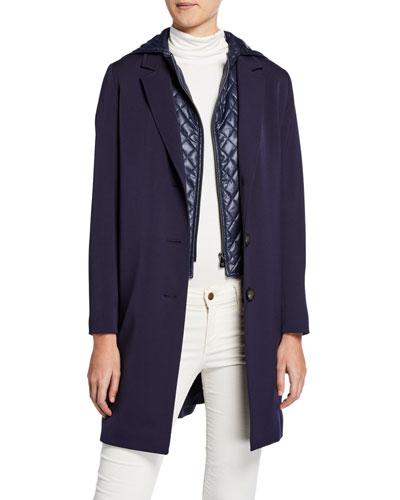 d525d3f5081 Wool Coat w  Quilted Hood   Bib